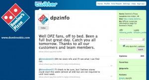 Twitter Domino's Pizza