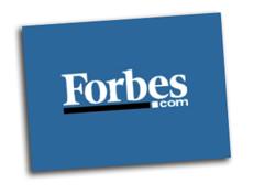 """forbes_logo Forbes: giornalisti pagati """"a clic"""""""