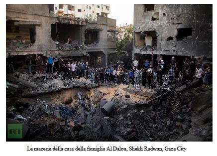 gaza_macerie La verità su Gaza in un report delle ONG