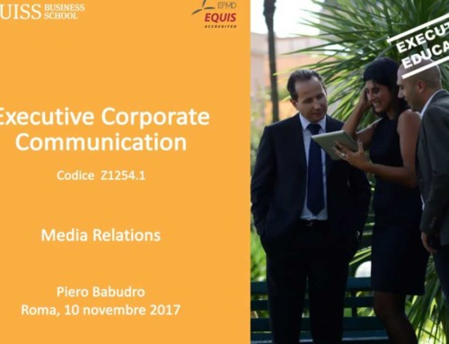 LUISS Business School: un workshop tra Corporate Communication e Scrittura Digitale