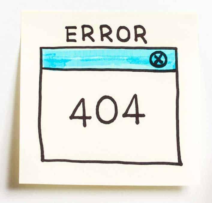 error-404 Ops 404