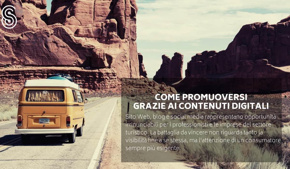 Come promuovere un'impresa sul Web grazie ai contenuti digitali.